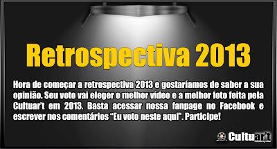 Link para a escolha do melhor vídeo e da melhor foto de 2013