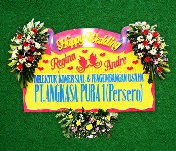 BUNGA PAPAN WEDDING 01