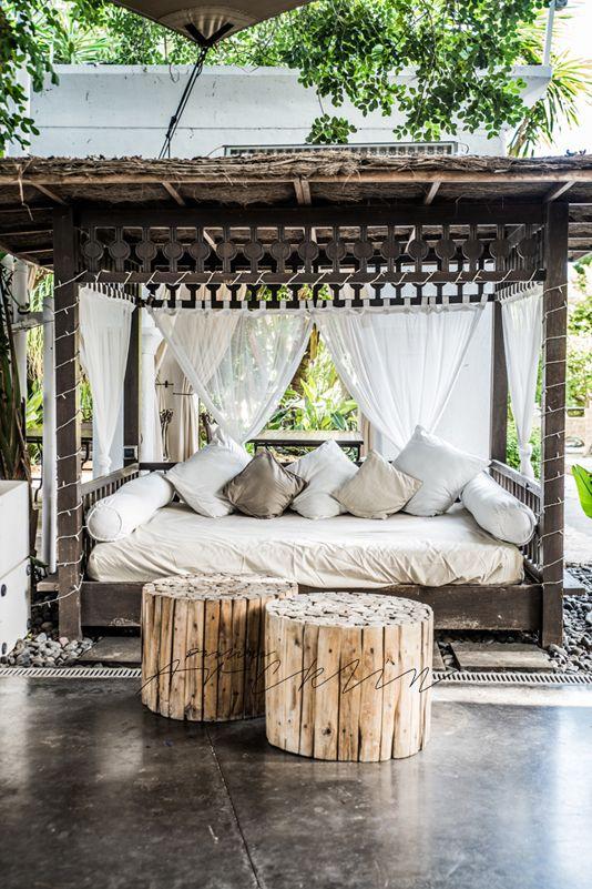la fabrique d co daybeds et loungers un jardin. Black Bedroom Furniture Sets. Home Design Ideas