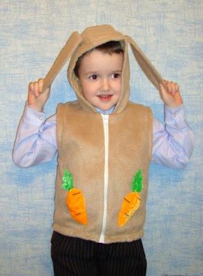 маскарадный костюм зайчика