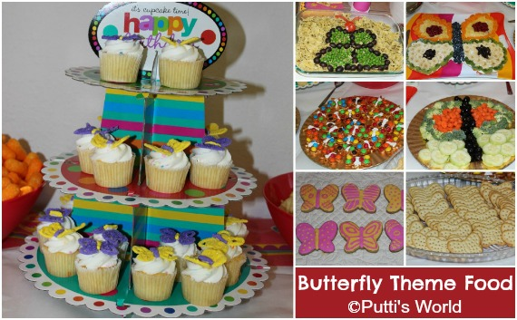 DIY Butterfly Party Food