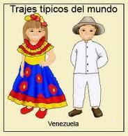 Traje tipico de venezuela