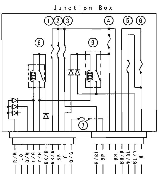 Junction%2BBox tear it up, fix it, repeat vulcan 1500 1600 headlight problems? Kawasaki Vulcan 1500 Wiring Diagram at gsmx.co