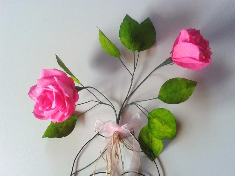 D coration murale la vie en roses for Decoration murale rose