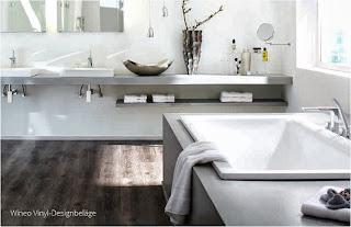 bodenbelag blog kautschuk und vinyl bodenbel ge trendgerechte alternativen f rs bad. Black Bedroom Furniture Sets. Home Design Ideas