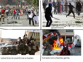 riots egypt lybia canada funny fail