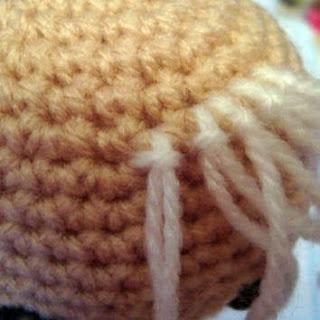 Amigurumi Aşkına Örgü Oyuncaklarım: Amigurumi Öğreniyorum Saç