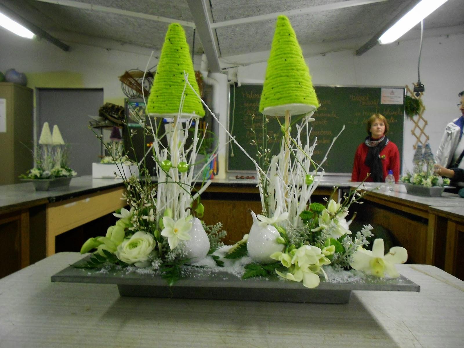 Art floral ipepsho tournai cours du 12 d cembre 2013 - Grand verre a pied pour decoration ...