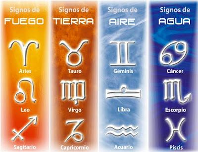 signos del zodiaco aire tierra