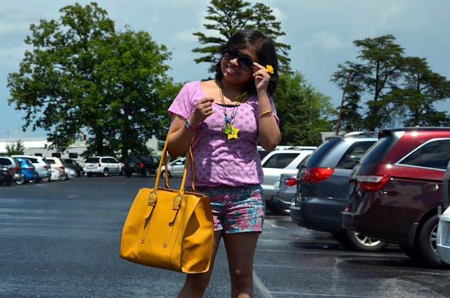 outfit post with shorts, summer outfit, kohls shorts,Indian fashion blogger, New England fashion blogger, Oxford shoes, yeswalker bag, Firmoo sunglass