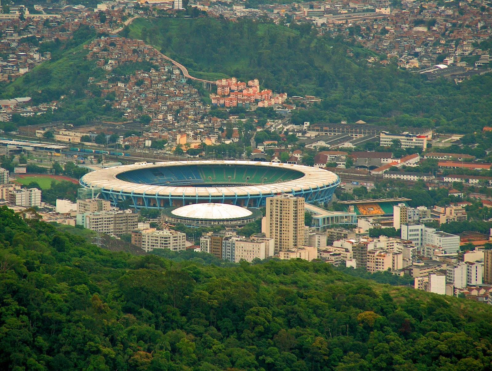 HOME OF SPORTS: Estadio Do Maracana