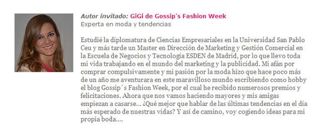 zankyou olga gigirey gossipsfashionweek gossip fashion week