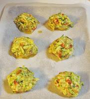 making zucchini & yellow squash balls