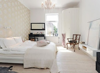 cozy scandinavian bedrooms 13 554x405 Dekorasi kamar tidur untuk cuaca dingin
