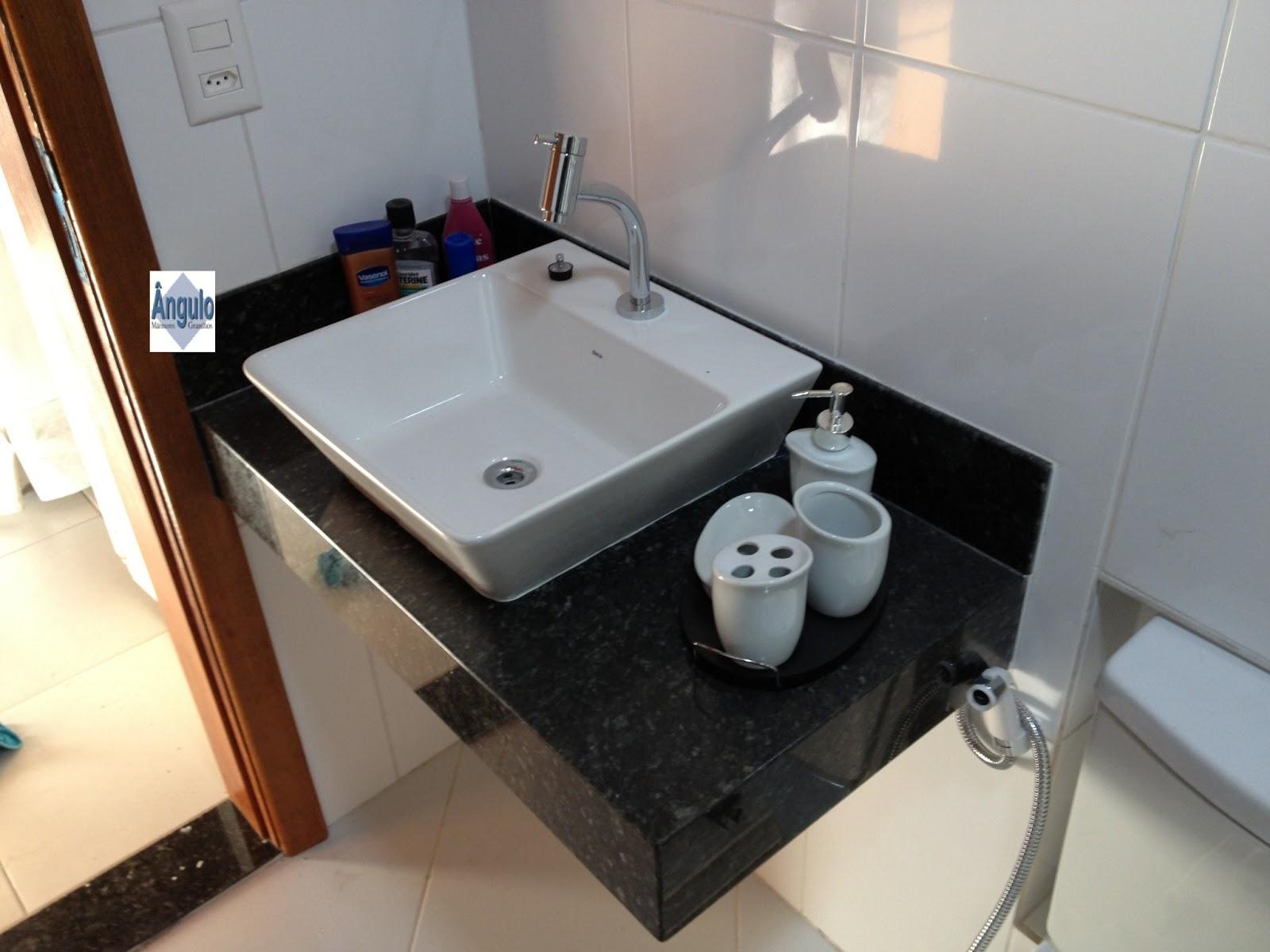 Ângulo Mármores e Granitos: Pia Verde Ubatuba #673F28 1600x1200 Bancada Banheiro Granito Verde Ubatuba