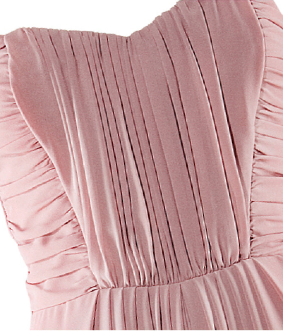 H&M Conscious Collection: H&M Rose Pink Maxi Prom Dress