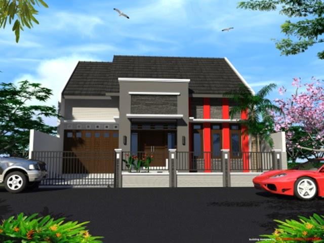 rumah minimalis 1 lantai type 150