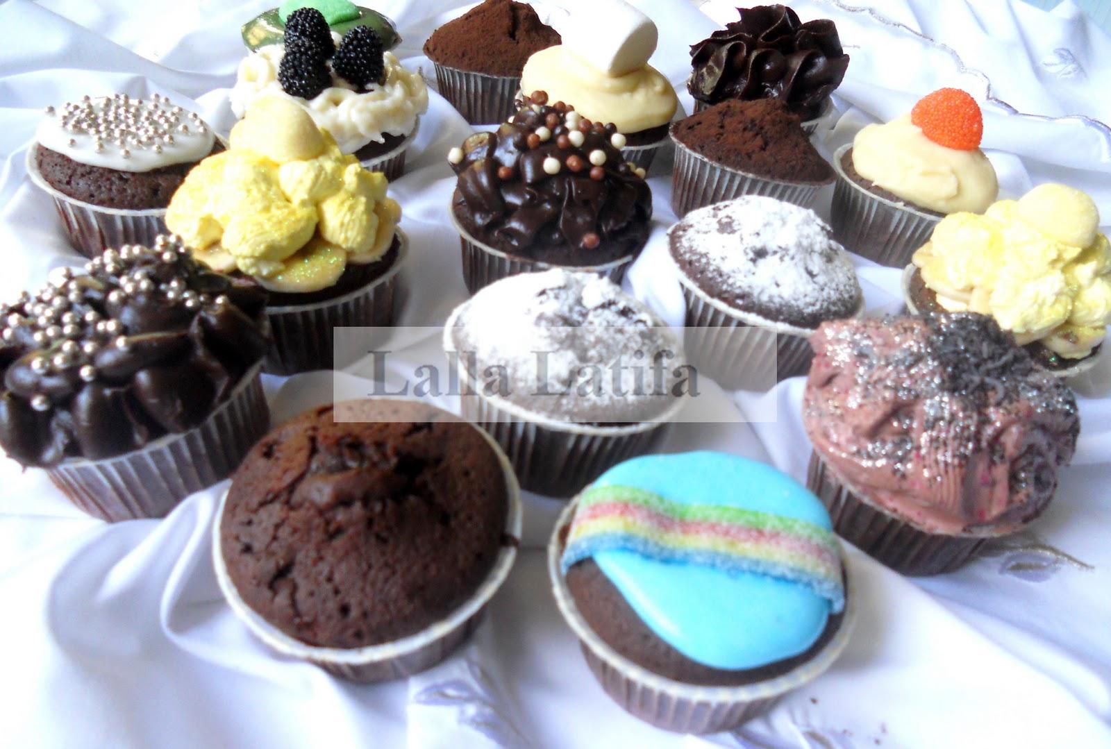 Les secrets de cuisine par latifa cupcakes au chocolat for Secrets de cuisine