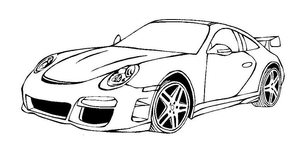 Cars To Color And Print