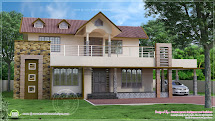 Simple Two-Storey House Design