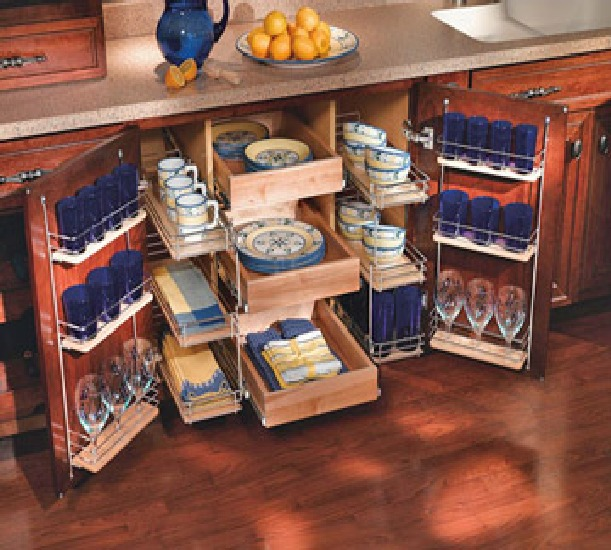 Kitchen storage solutions interiors blog Kitchen under cabinet storage ideas