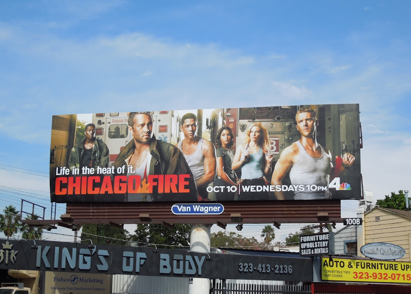 Chicago Fire billboard