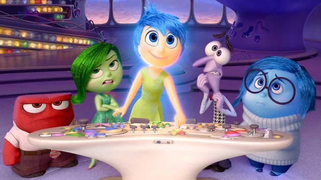 "Five emotions wrestle with one another, and more, in ""Inside Out"""