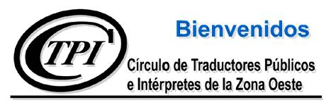 Circulo de Traductores Publicos e Interpretes de la Zona Oeste
