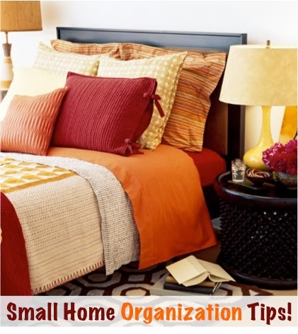 Big list of small home organization tips diy craft projects - Small house organization tips ...