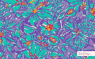 Lilly Pulitzer Sailboat Background