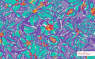 Lilly Pulitzer SummerSheSheShells iphone wallpaper | Patterns We ...