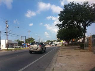 South Lamar bike lane