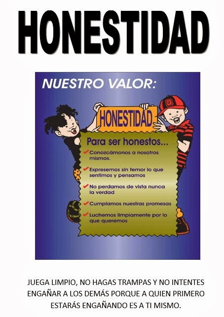 """Valor """"Honestidad"""""""