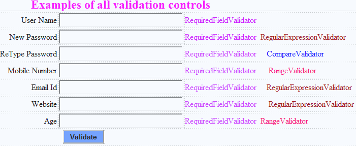 validating in a web user control