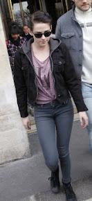 Kristen Stewart en París el 30 & 31 de Enero del 2012