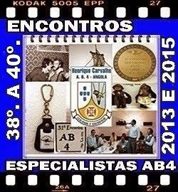38º a 40º - ENCONTROS DOS ESPECIALISTAS DO AB4 - 2013 a 2015
