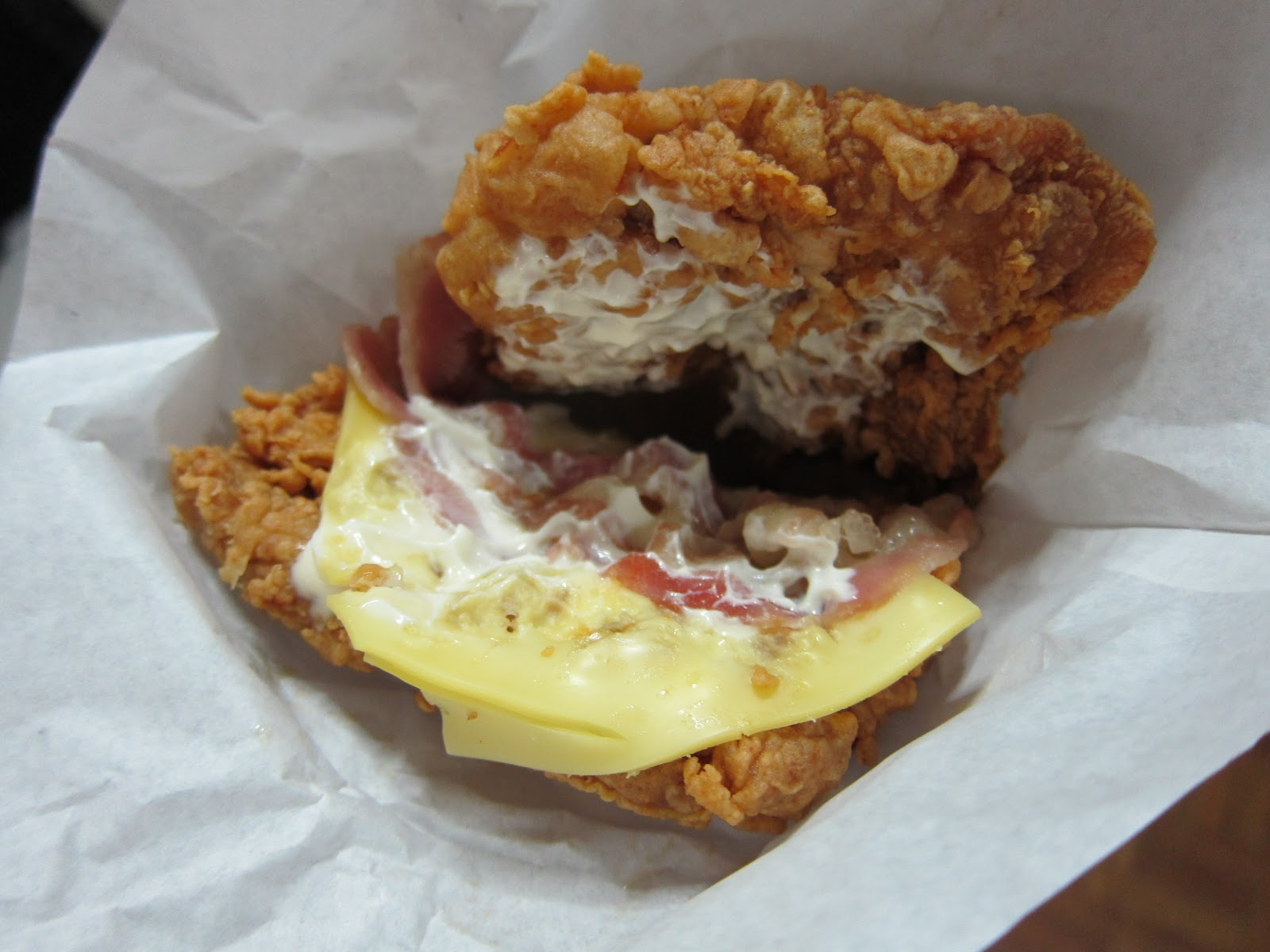KFC Zinger Double Down is Here Zinger Double Down