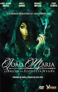 João e Maria: A Bruxa da Floresta Negra - BDRip Dual Áudio