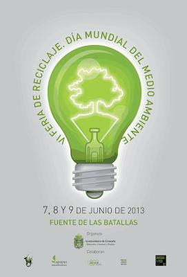 Cartel Feria Reciclaje - Dia del Medio Ambiente
