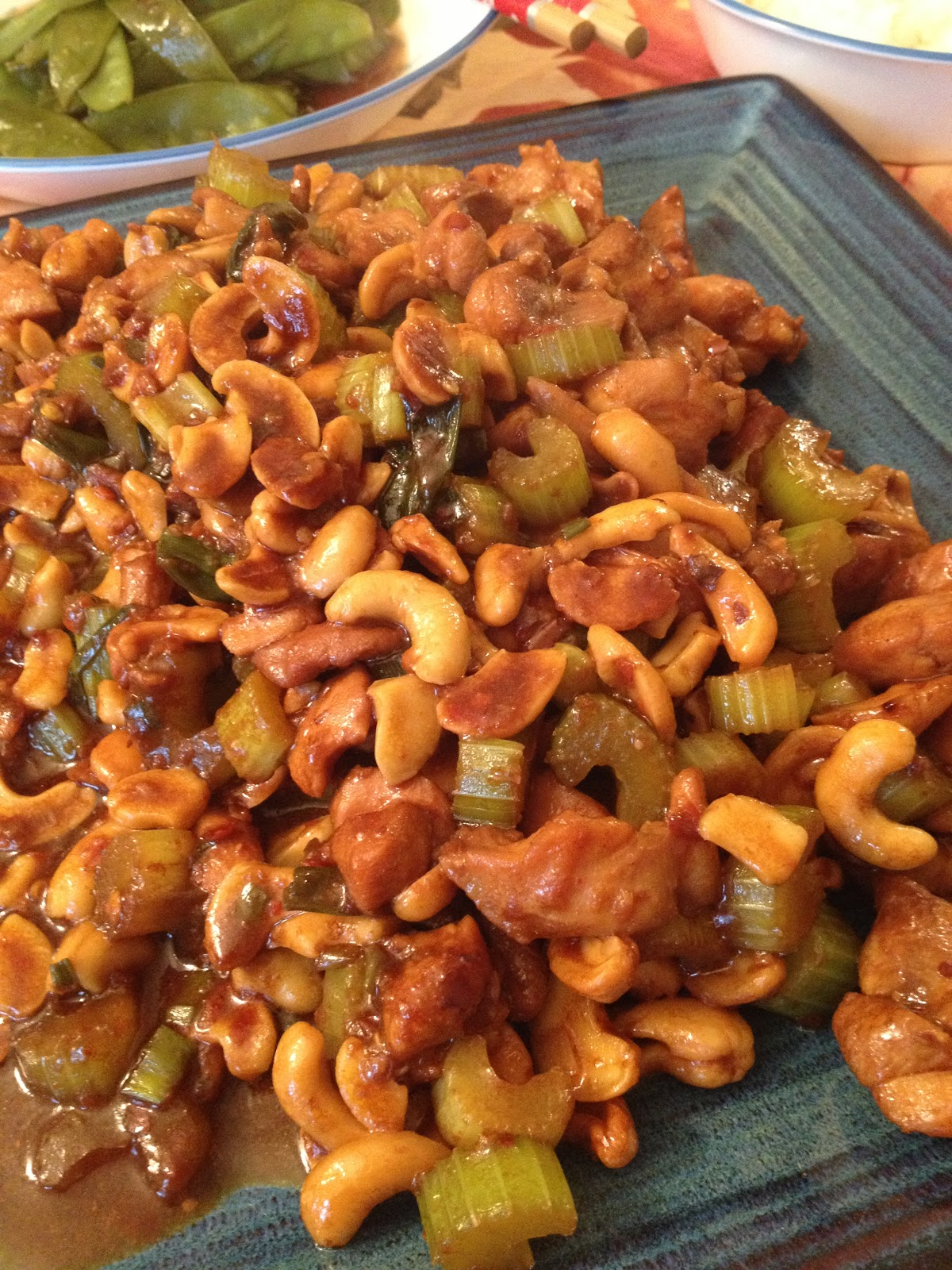 Kung pao chicken (to me) is all about tender chicken and crunchy other ...