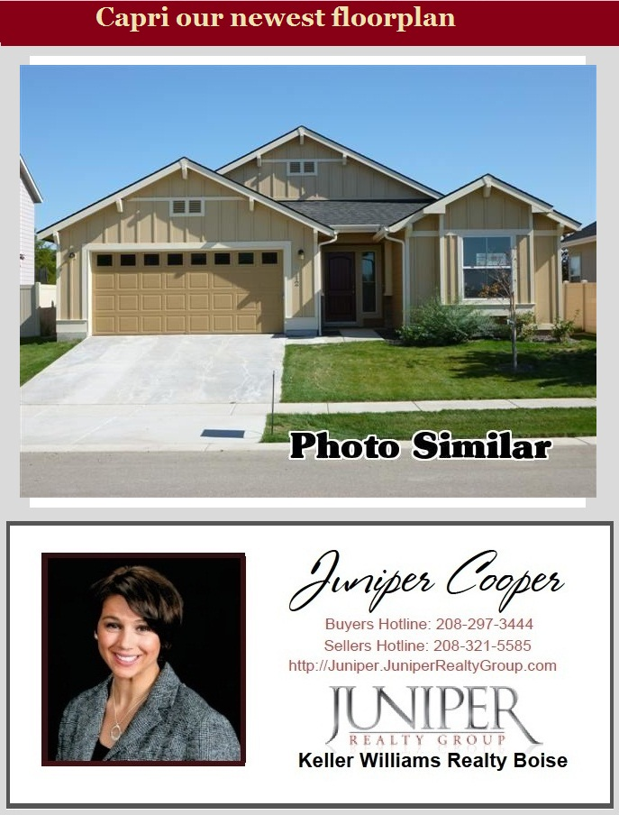 New construction the capri 1530 in meridian id 83646 for Craftsman style homes for sale in boise idaho
