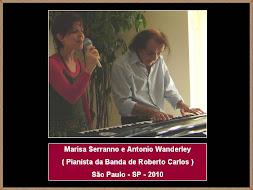 Marisa Serranno e Antonio Wanderley (Pianista)