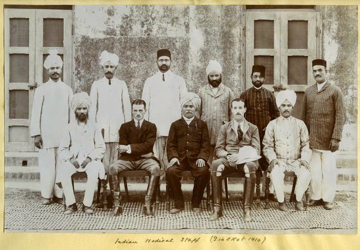 Indian Medical Staff  - Sialkot 1914