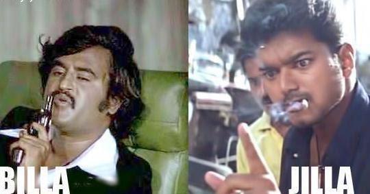 thalaiva vijay jilla vs billa