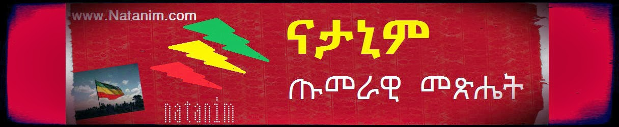 ናታኒም ጡመራዊ መጽሔት Ntanim blogging newspaper