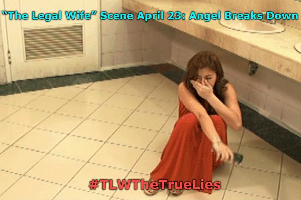 The Legal Wife Scene April 23 Angel Breaks Down #TLWTheTrueLies