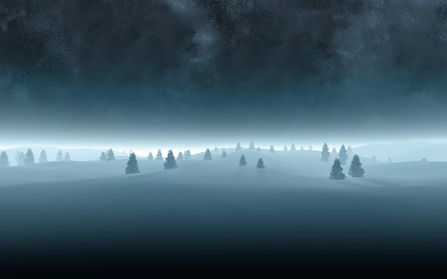 Hình nền tuyết trắng mùa đông đẹp cho máy tính