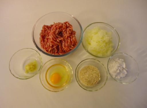 Ma vraie cuisine japonaise boulettes de viande niku - Ma vraie cuisine japonaise ...
