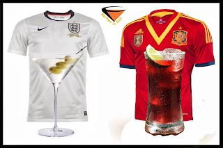 bebidas y futbol
