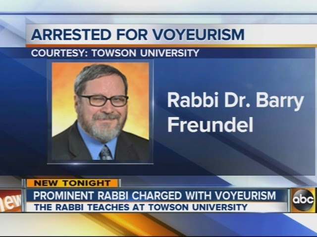 Orthodox Rabbi Barry Freundel Arrested for Voyeurism; Abuse